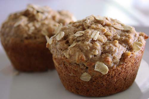 Banana Oatmeal Muffins | Chef In Training
