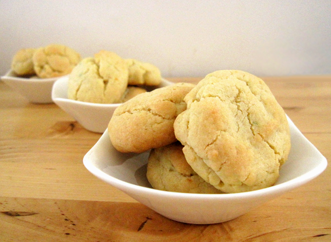 Lemon Cooler Cookies With Cake Mix